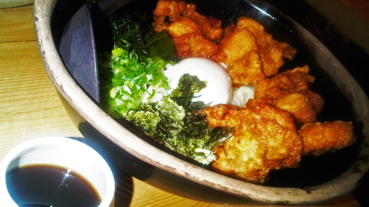 Chicken Karaage w/ On Tama Don