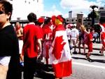 Rideau Street on Canada Day