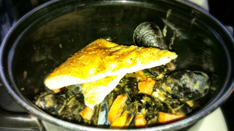 Fresh Steamed Mussels