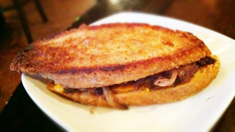 Braised Short-Rib Grilled Cheese