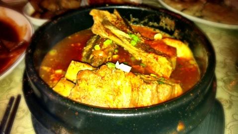 Gamjatang (Pork Bone Soup)