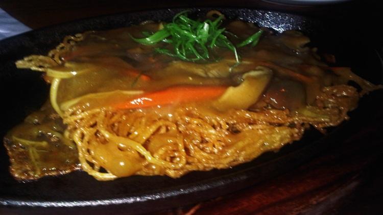 Skillet Curry Yakisoba